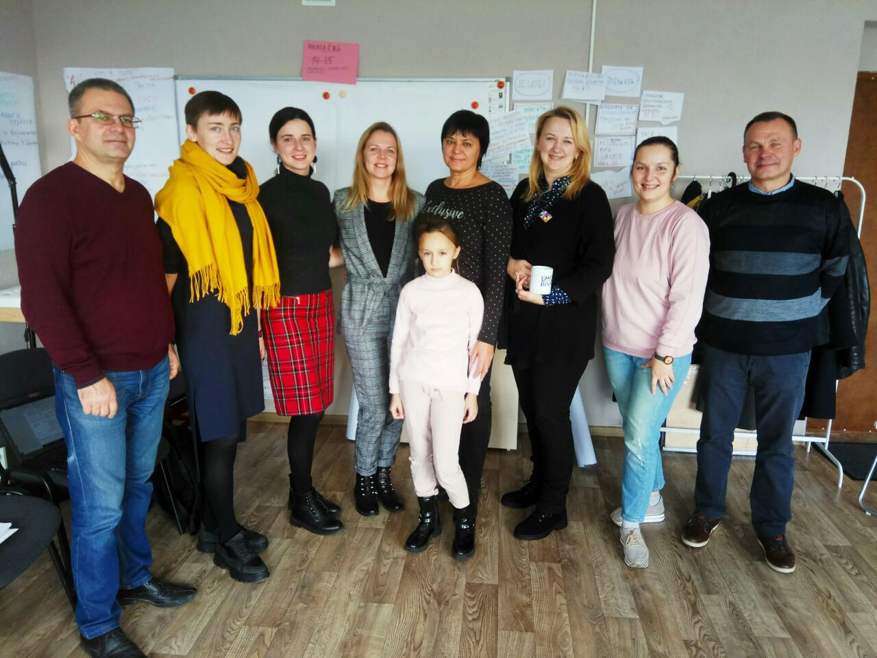 Робоча зустріч керівників спільного проекту Білорусь / Швеція / Україна